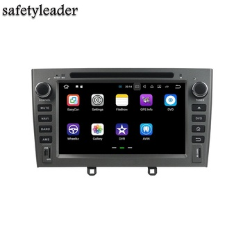 "1024*600 2 GB RAM Quad Core 2 din 7 ""Android 7.1 Ile Peugeot 408 2007-2010 için Car DVD Player Radyo GPS WIFI Bluetooth 16 GB ROM"